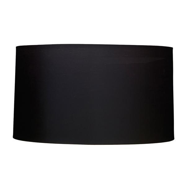 Luis Collection Lighting Charcoal 40cm Cylinder Shade by Luis Collection