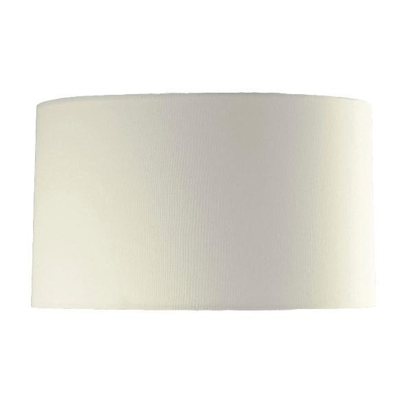 Luis Collection lighting Cream 42cm Cylinder Shade by Luis Collection