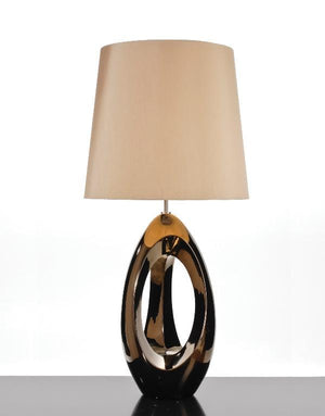 Luis Collection lighting Spinnaker Bronze Table Lamp by Luis Collection