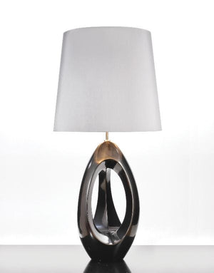 Luis Collection lighting Spinnaker Pewter Table Lamp by Luis Collection