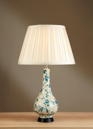 Luis Collection lighting Teal Leaves Table Lamp by Luis Collection