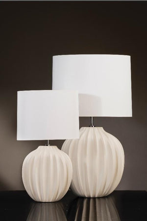 Luis Collection lighting Veronica Medium Table Lamp by Luis Collection