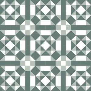Olde English Tiles Tile Designs Olde English Kielder Pistachio/Dark Green/Super White Floor Tiles