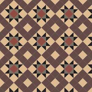 Olde English Tiles Tile Designs Olde English Monteith 70 Cognac/Brown/Black/Anthracite/Red Floor Tiles