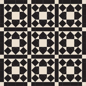 Olde English Tiles Tile Designs Olde English Windermere – Black/White Floor Tiles