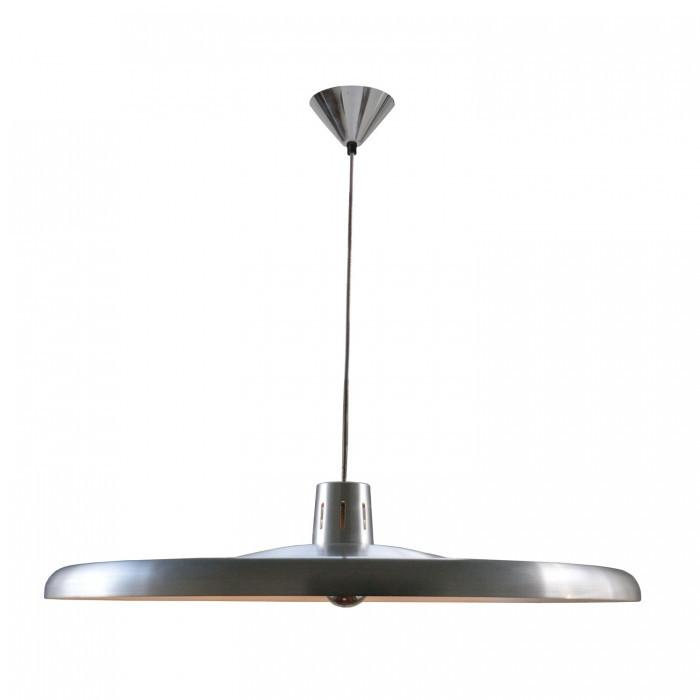 Original BTC Lighting 700 Pendant Light: Brushed Aluminium By Original BTC