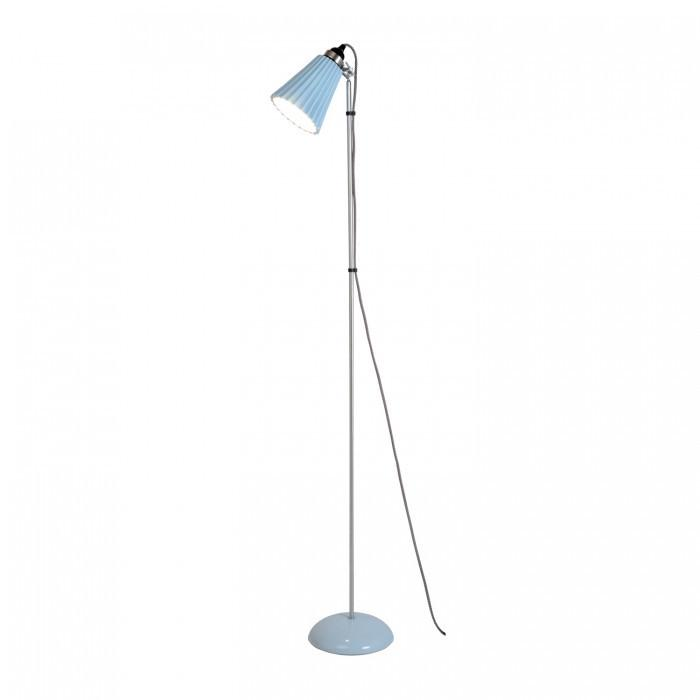 Original BTC Lighting Hector Medium Pleat Floor Light: Light Blue By Original BTC