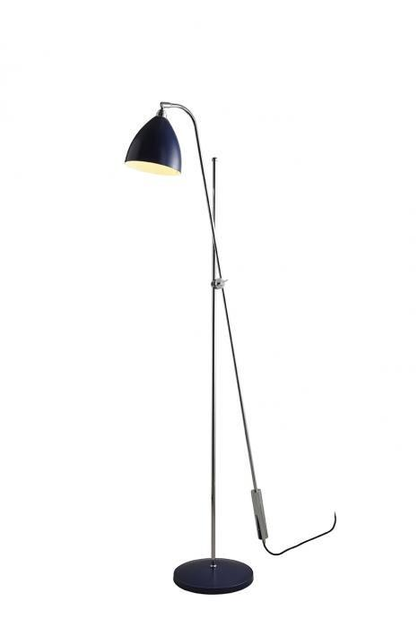Original BTC Lighting Task Overreach Floor Light: Blue By Original BTC