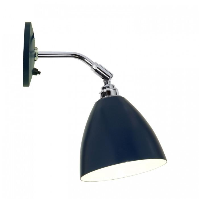 Original BTC Lighting Task Short Wall Light: Blue By Original BTC