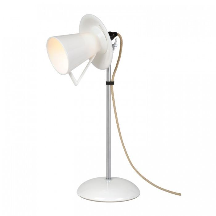 Original BTC Lighting Teacup Table Light: White By Original BTC