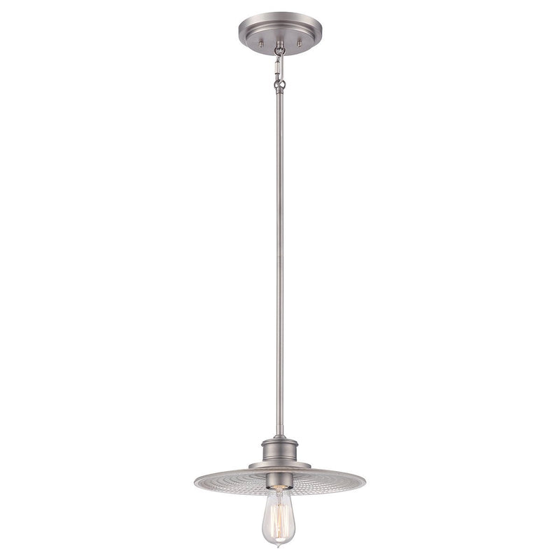 Quoizel Lighting Admiral 1lt Mini Pendant Antique Nickel by Quoizel