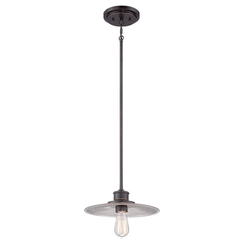 Quoizel Lighting Admiral 1lt Mini Pendant Imperial Bronze by Quoizel