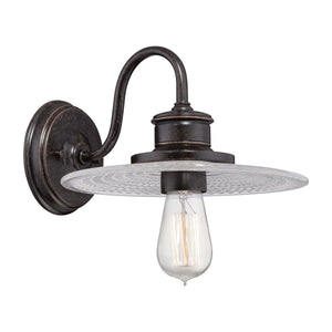 Quoizel Lighting Admiral 1lt Wall Light Imperial Bronze by Quoizel