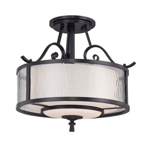 Quoizel Lighting Adonis Semi-Flush Light by Quoizel