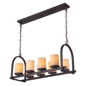 Quoizel Lighting Aldora 8lt Island Light by Quoizel