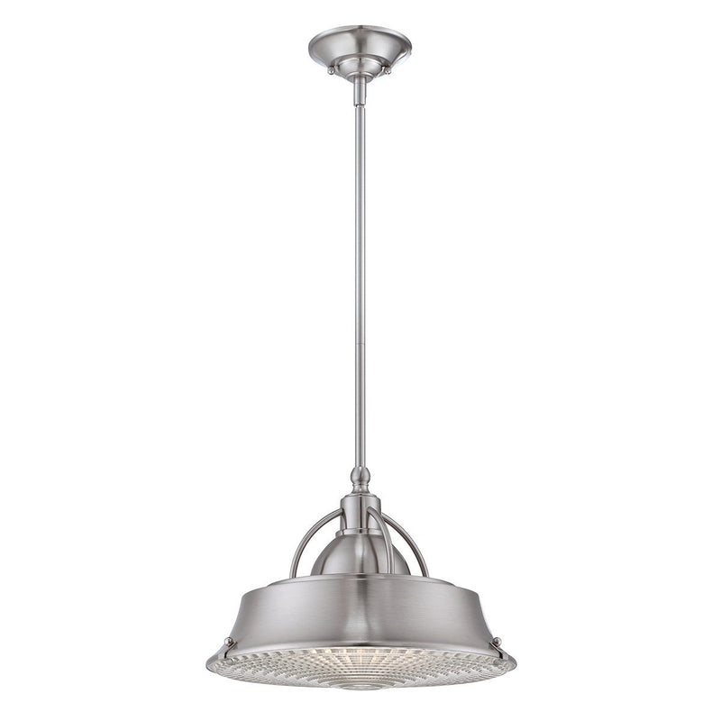 Quoizel Lighting Cody 2lt Pendant Brushed Nickel by Quoizel