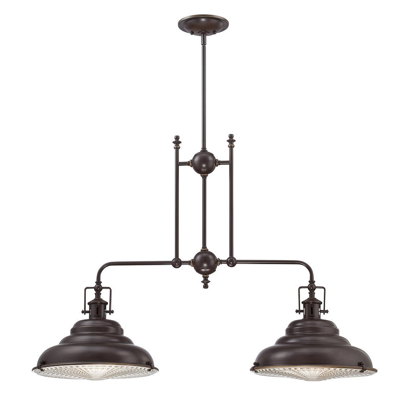Quoizel Lighting East Vale 2lt Island Light by Quoizel