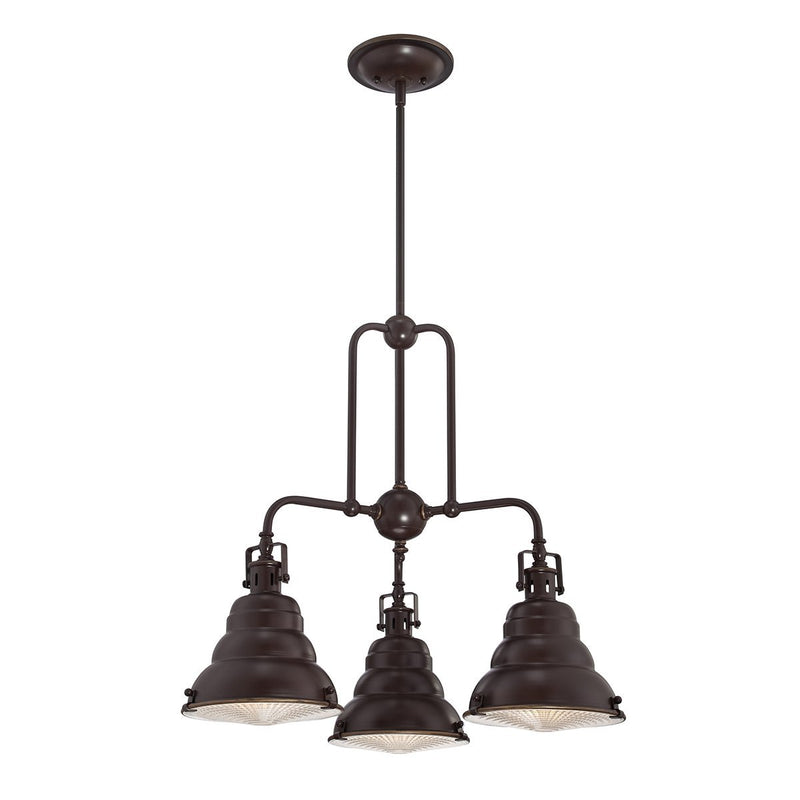 Quoizel Lighting East Vale 3lt Chandelier by Quoizel