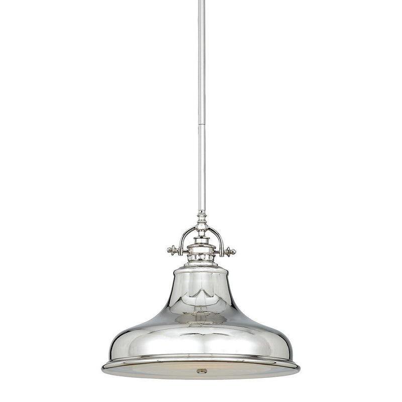 Quoizel Lighting Emery 1lt Medium Pendant Imperial Silver by Quoizel