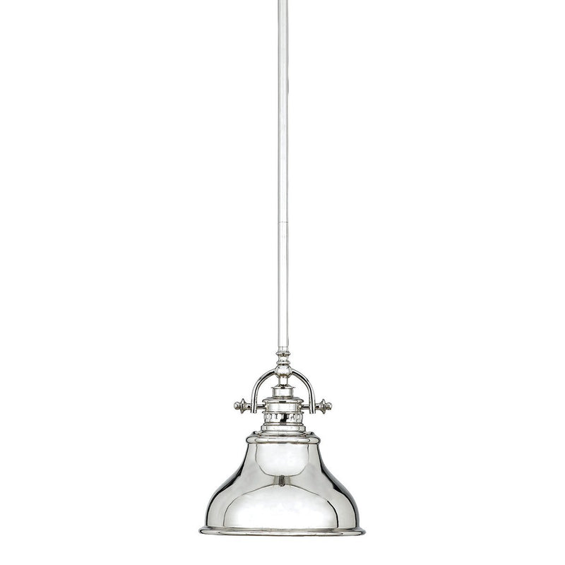 Quoizel Lighting Emery 1lt Mini Pendant Imperial Silver by Quoizel
