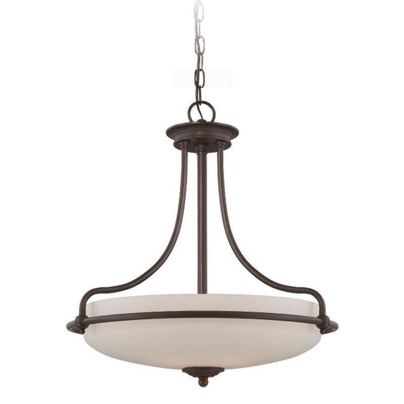 Quoizel Lighting Griffin Pendant Light Palladian Bronze by Quoizel