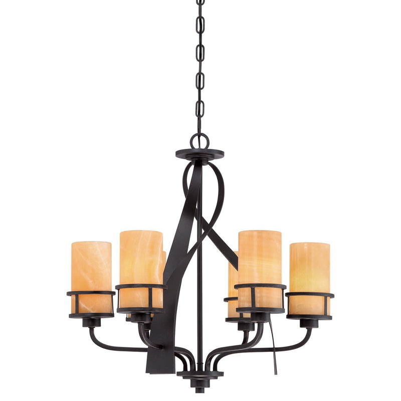 Quoizel Lighting Kyle 6lt Chandelier by Quoizel