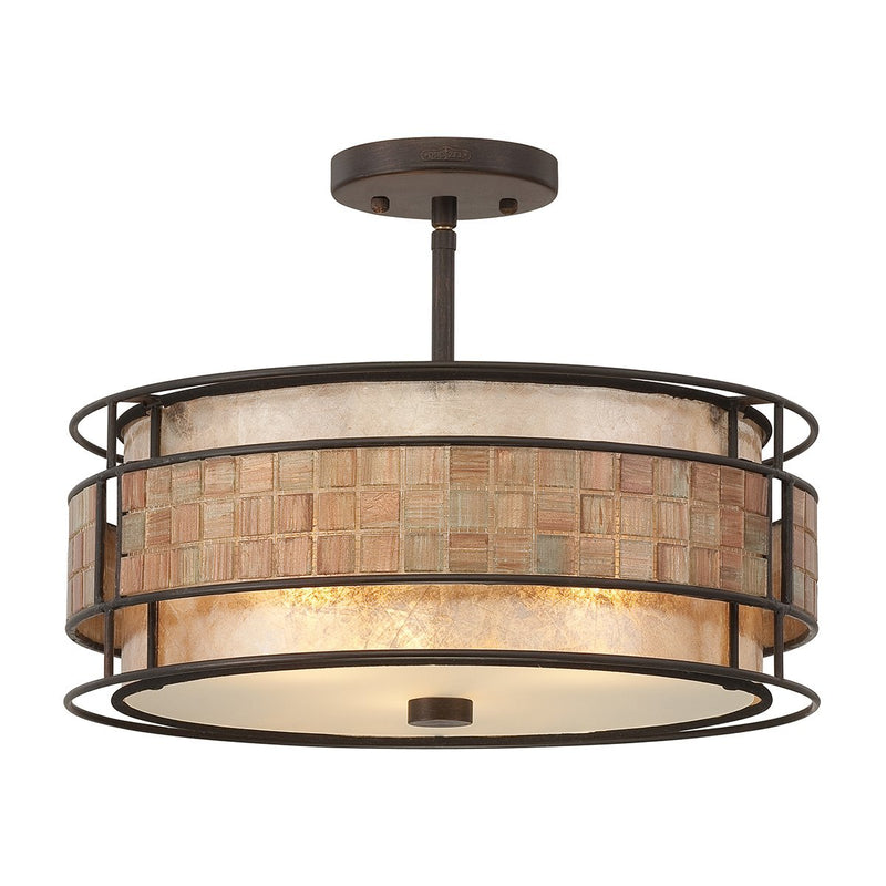 Quoizel Lighting Laguna Semi-Flush Light by Quoizel
