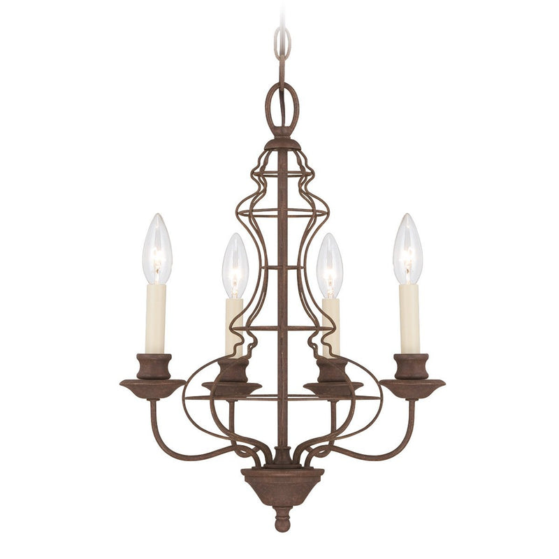 Quoizel Lighting Laila 4lt Chandelier by Quoizel