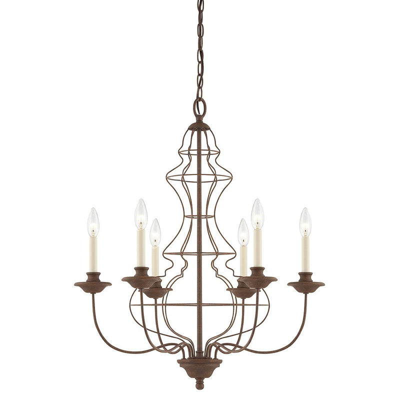 Quoizel Lighting Laila 6lt Chandelier by Quoizel