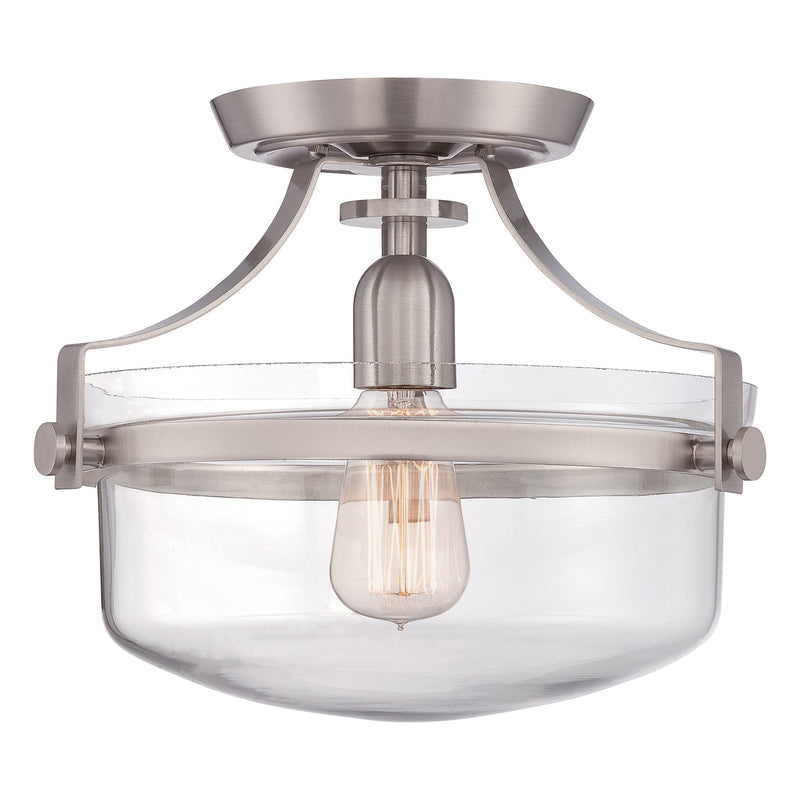 Quoizel Lighting Penn Station Semi Flush by Quoizel