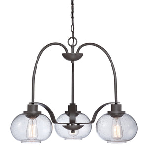 Quoizel Lighting Trilogy 3lt Chandelier by Quoizel
