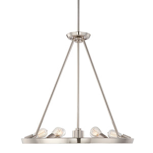 Quoizel Lighting Uptown Theater Row 6lt Chandelier by Quoizel
