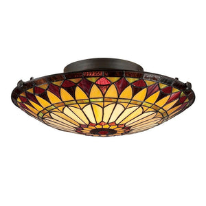 Quoizel Lighting West End Medium Floating Flush Mount by Quoizel
