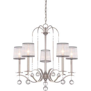 Quoizel Lighting Whitney 5lt Chandelier by Quoizel