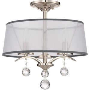 Quoizel Lighting Whitney Semi Flush/Pendant by Quoizel