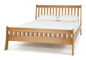 Serene Furnishings Bed Colchester 180 CM Oak Super King Size Bed By Serene Furnishings