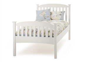 Serene Furnishings Bed Eleanor 90 CM High Footend Single Bed By Serene Furnishings