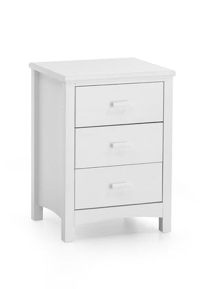 Serene Furnishings Bedside Cabinet Eleanor 3 Drawer Bedside Cabinet By Serene Furnishings