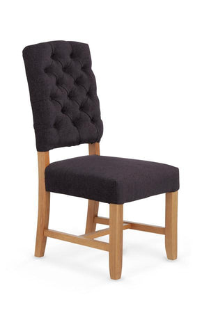 Serene Furnishings Dining Chair Belmont Pair OF Aubergine Dining Chairs By Serene Furnishings
