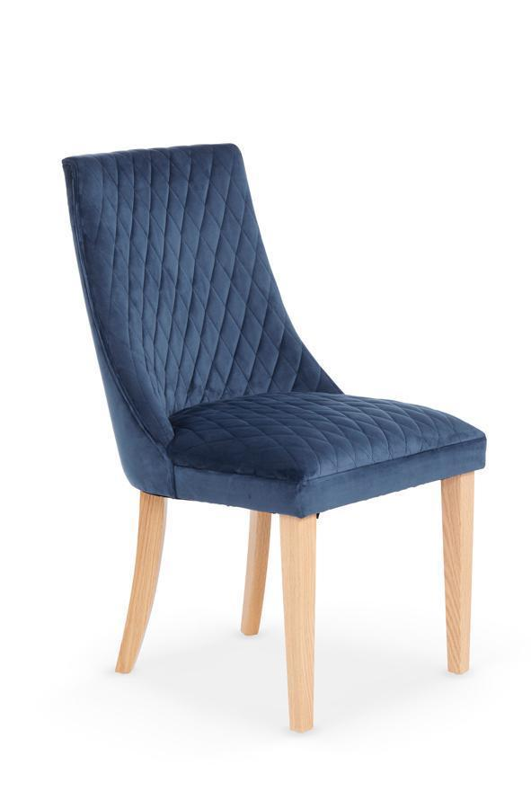 Serene Furnishings Dining Chair Charlton Pair Of Blue Dining Chairs By Serene Furnishings