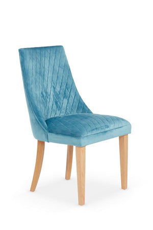 Serene Furnishings Dining Chair Charlton Pair Of Cyan Dining Chairs By Serene Furnishings