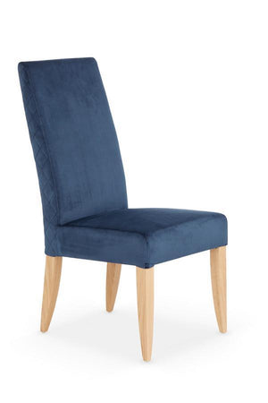 Serene Furnishings Dining Chair Hendon Pair Of Blue Dining Chairs By Serene Furnishings