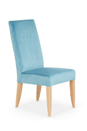 Serene Furnishings Dining Chair Hendon Pair Of Cyan Dining Chairs By Serene Furnishings