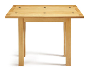 Serene Furnishings Dining Table Brent Oak Extending Dining Table 45/90 CM By Serene Furnishings