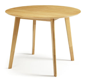 Serene Furnishings Dining Table Croydon Oak Round Dining Table By Serene Furnishings