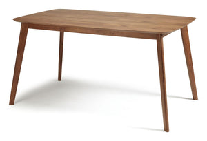 Serene Furnishings Dining Table Westminster 150CM X 90CM Walnut Dining Table By Serene Furnishings