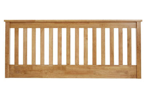 Serene Furnishings Headboard 150CM Heather King Size Headboard Honey Oak By Serene Furnishings