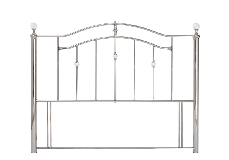 Serene Furnishings Headboard Ashley 135 CM Nickel Double Headboard By Serene Furnishings