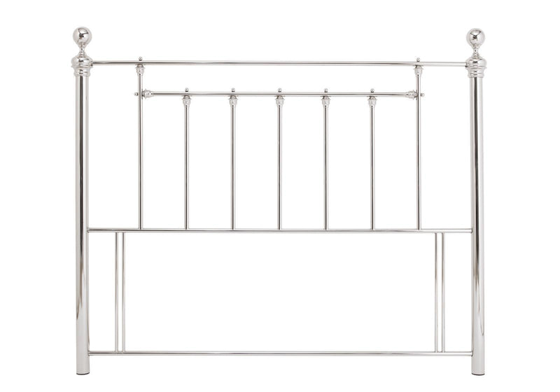 Serene Furnishings Headboard Benjamin 180 CM Nickel Super King Size Headboard By Serene Furnishings