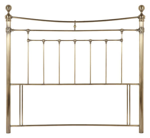 Serene Furnishings Headboard Edmond 135 CM Antique Brass Double Headboard By Serene Furnishings